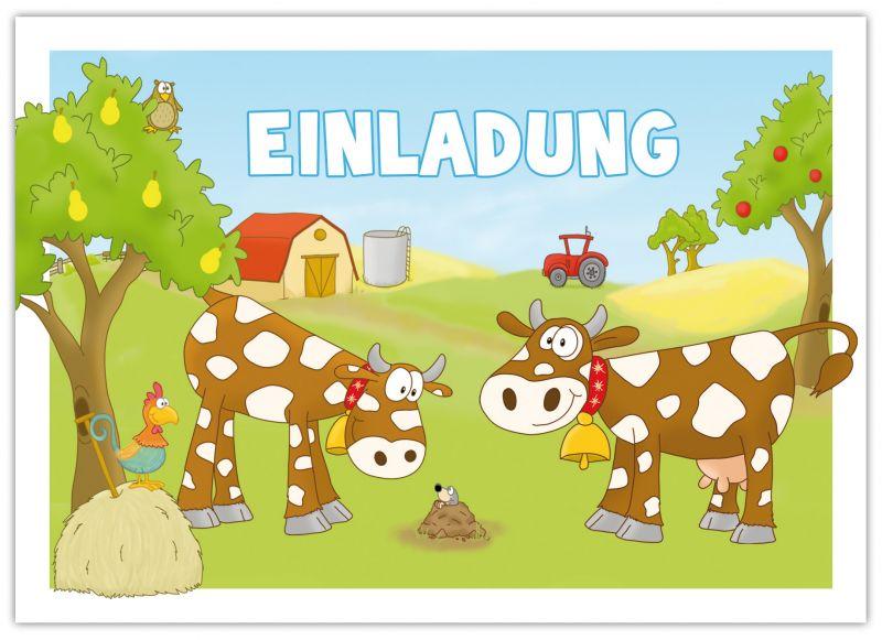 Einladungen Zum Kindergeburtstag Bauernhof Emufarm